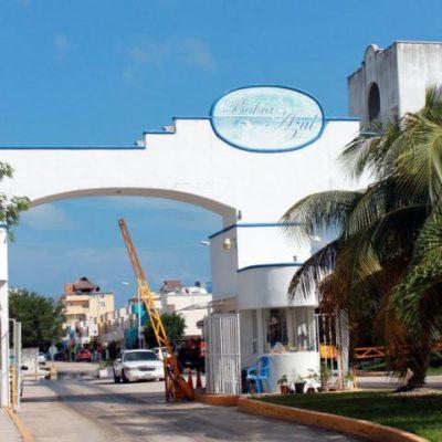 Siguen bajo el agua fraccionamientos aledaños a Puerto Cancún
