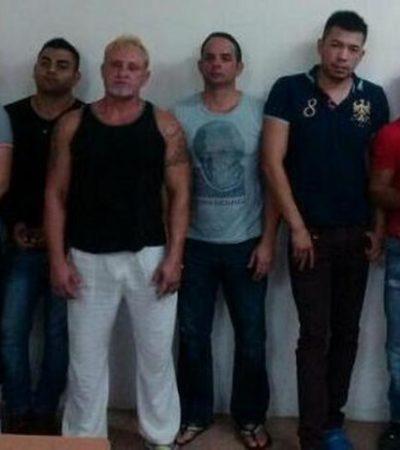 Dan formal prisión a banda de 'clonadores' de tarjetas en Cancún