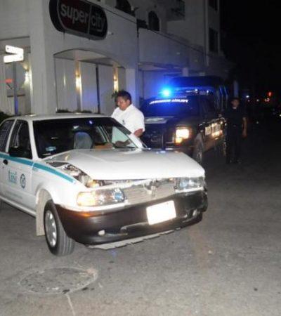 'Acalambran' a presunto 'narcotaxista' en Playa