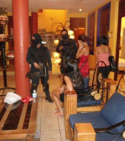 Catean prostíbulo VIP en zona turística de Playa del Carmen