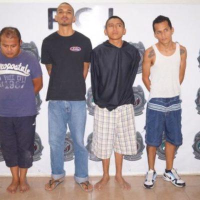 Capturan a banda de ladrones de comercios en Cancún