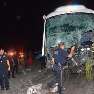 Sale libre bajo fianza responsable de trágico accidente en el que murieron 4 personas al sur de QR