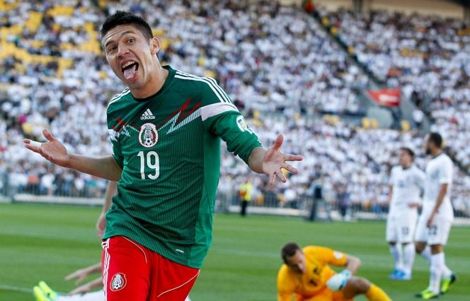 AMARRA MÉXICO VIAJE A BRASIL: Derrota el Tri a Nueva Zelanda y obtiene el boleto al Mundial 2014 por la vía del repechaje