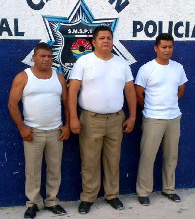 Consignarían sólo por abuso de autoridad a 3 policías que montaron retén falso para extorsionar a automovilistas