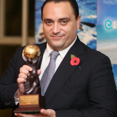 ¡Wooowww! Gana Cancún en Londres 3 premios de turismo en el área de Centroamérica y Borge se jacta
