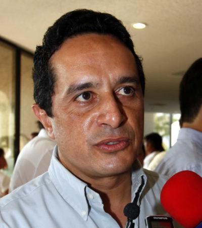 """PRECISA CARLOS JOAQUÍN DETALLES DEL ACCIDENTE: """"Todos mis colaboradores y yo hemos cooperado desde el principio"""", dice; la camioneta, del diputado Filiberto"""
