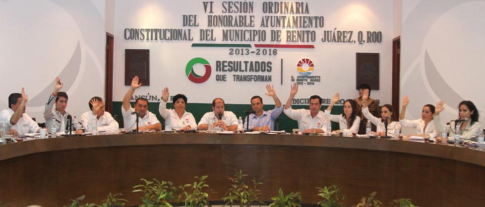 SE IMPONE CABILDAZO EN BJ: En medio de reclamos, mayoritean presupuesto por 2.5 mdp para 2014; el 47%, a burocracia; cortan transmisión de la sesión en Radio Ayuntamiento