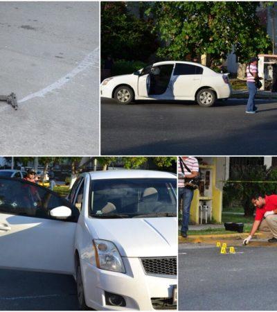 INTENTO DE EJECUCIÓN EN LA NICHUPTÉ: Balean a un hombre y a una mujer en Cancún, a la altura del Pabellón Caribe