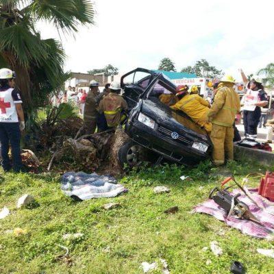 Consignan por homicidio culposo a conductor que atropelló a mujer y tres niños