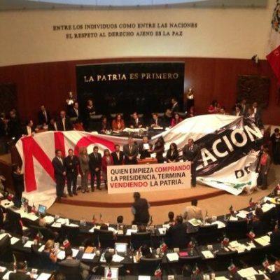 CONSUMAN GOLPE EN EL SENADO: Aprueban, en lo general, reforma energética con 95 votos a favor y 28 en contra