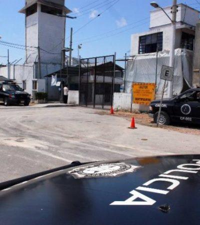 Con una toalla y un torniquete, reportan supuesto suicidio de un reo en la cárcel de Cancún