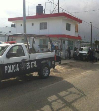 RIÑA EN EL CERESO TRAS DECOMISO DE DROGA: Reos del 'autogobierno' tunden al homicida de estilista en Chetumal
