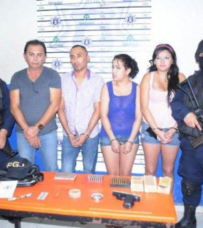 Saldrían bajo fianza presuntos sicarios detenidos con droga en Playa