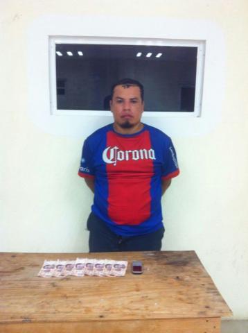 Detienen a otro extorsionador en Playa del Carmen cuando cobraba derecho de piso a empresario