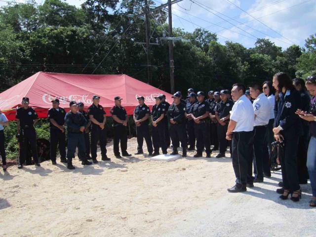 Por represalias de superiores, amenazan policías de Tulum con paro de labores