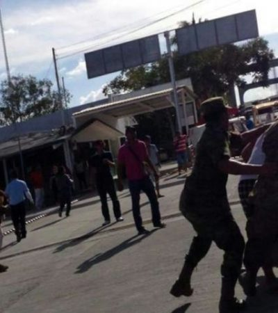 Estalla bronca en la aduana de Subteniente López: 3 heridos y 5 detenidos
