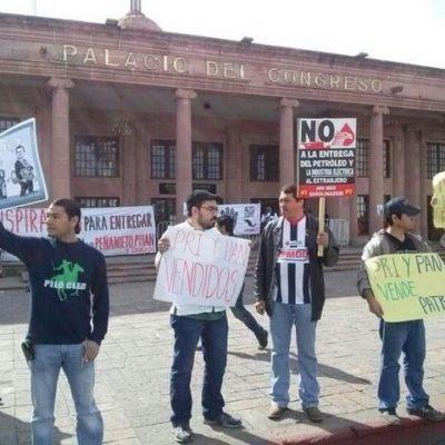 Sumisión de Congresos estatales para sacar adelante, lo más rápido que se pueda, la reforma energética de Peña Nieto