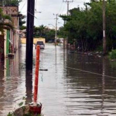 Se vuelven a inundar fraccionamientos Bahía Azul y Donceles 28