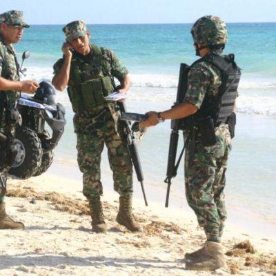 RECALA COCAÍNA EN LA RIVIERA MAYA: Detienen a 5 personas que se peleaban por el hallazgo de un 'ladrillo' de la droga