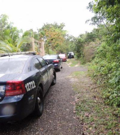 SALDO ROJO TRAS LA NAVIDAD: Hallan cuerpo de hombre degollado en la comunidad de Leona Vicario