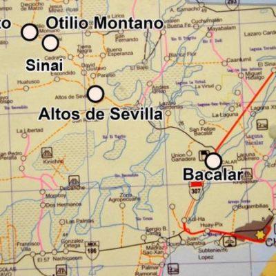 UBICAN NARCOPISTA EN BACALAR: Localiza Ejército pista clandestina en 'El Gallito', en los límites con Campeche