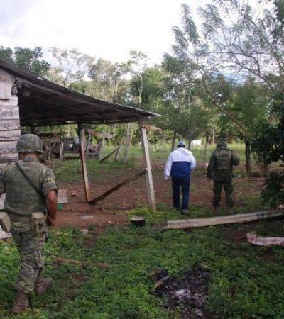 Catean rancho 'Los Jarochos' ubicado cerca de narcopistas sin resultados