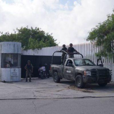 Trasladan a cárcel de Cancún al 'Comandante Marín'