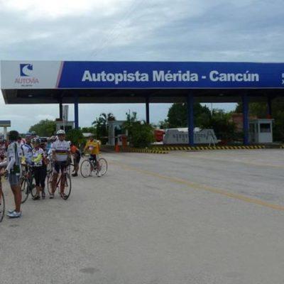 CASCADA DE AUMENTOS: Incrementan peaje de autopista Cancún-Valladolid-Mérida a partir de 1 de enero