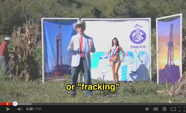 VIDEO PARÓDICO CONTRA REFORMA: Muestra 'texano' apertura energética y 'fracking' para principiantes y desinformados