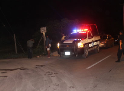 Matan de 2 balazos a un hombre en pueblo de Bacalar tras una supuesta riña