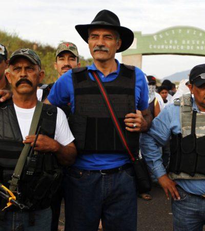 SE MANTIENEN LAS AUTODEFENSAS: En medio de mensajes contradictorios, rechaza Mireles deponer las armas en Michoacán