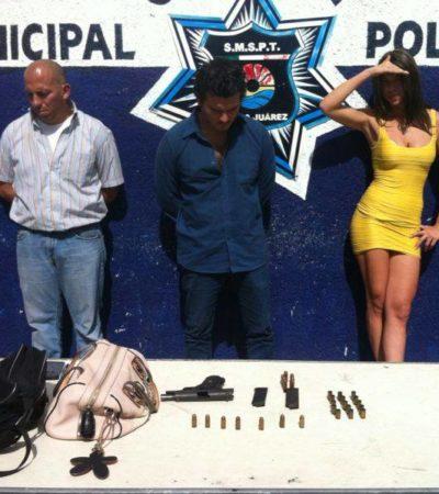 Detienen a dos hombres y una mujer por disparos en residencia de Isla Dorada