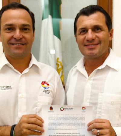 REVIENTA ESCANDALO EN LA CMIC Y SALPICA A PAUL CARRILLO: Por presunto desvío de más de 2 mdp, rechazan cuentas de Luis Roger Espinosa, actual secretario de Obras en Cancún