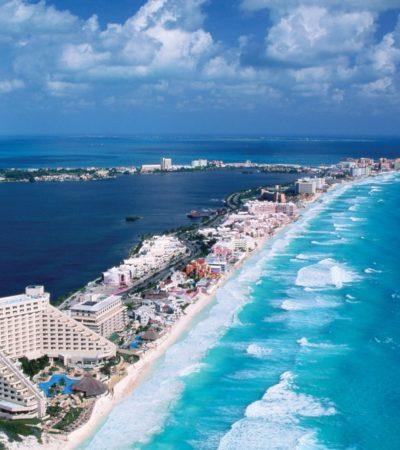 Confían hoteleros en que la recuperación de playas de Cancún se concrete este año
