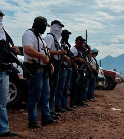 MICHOACÁN EN LLAMAS: Choque armado entre autodefensas y Templarios en Parácuaro
