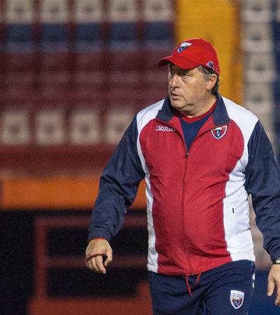 Cae Atlante 2-1 ante el Veracruz y cesan al técnico uruguayo Rubén Israel
