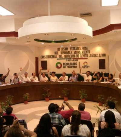 CABILDAZO Y CENSURA EN CANCÚN: Tumba Cabildo PDU y POEL de Julián Ricalde y allana el camino para detonar proyectos turísticos polémicos; interrumpen transmisión de la sesión en vivo para silenciar críticas
