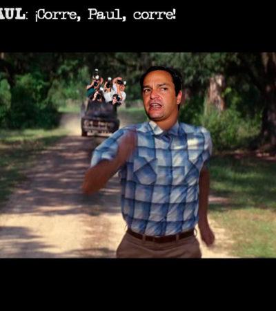PORTARRETRATO – FORREST PAUL: ¡Corre, Paul, corre!
