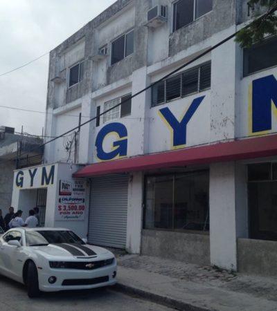 Fallece en el hospital hombre baleado la semana pasada en un gimnasio de la Uxmal en Cancún