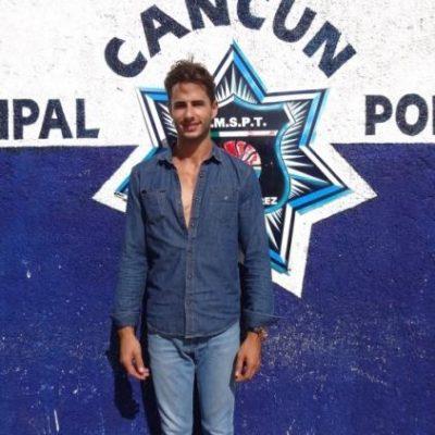 Detienen a cubano con bolsa de marihuana en la salida de Cancún