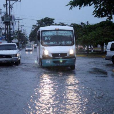 INICIO DE AÑO PASADO POR AGUA: Por deficiencias de infraestructura, sufre Cancún por las lluvias