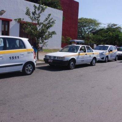 Aumentan 'a la mala' la tarifa de taxis en Chetumal
