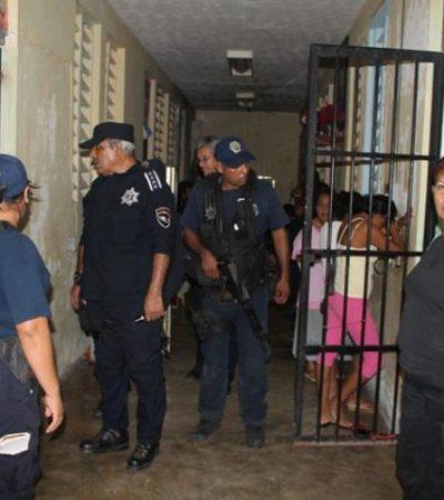 Reportan presunta violación a una mujer en el Cereso de Chetumal