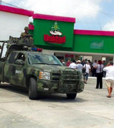 SORPRENDE GENERAL A TAXISTAS: Visita 'de cortesía' de jefe militar de Cancún a líder del sindicato Oliver Fabro tras ejecución de contador