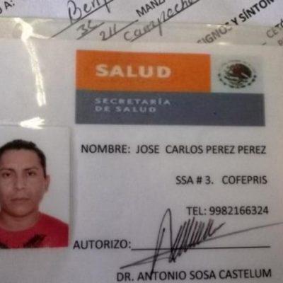 Consignan a falso inspector de Sesa en Cancún
