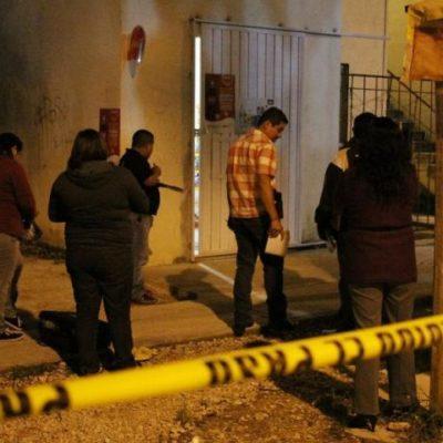 EJECUCIÓN EN VILLAS OTOCH: Frente a su hijo, matan a quemarropa a un hombre en una tiendita en la Región 259 de Cancún