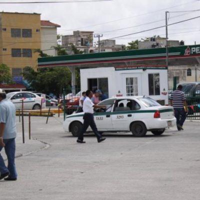 Tras ejecución de contador, ponen bajo la lupa operaciones de gasolinera del sindicato de taxistas en Cancún