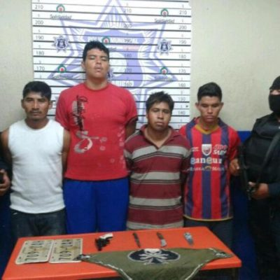 Capturan a banda de asaltantes que planeaba secuestrar a acaudalado taxista en Playa