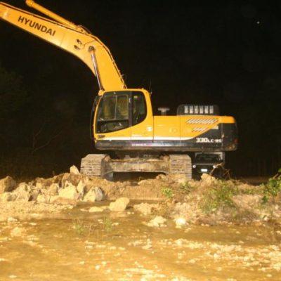 PROVOCA ICA OTRO ECOCIDIO: Rompe empresa principal tubería de aguas residuales en Playa del Carmen, derramando miles de litros en un cenote