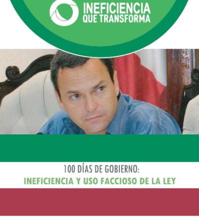 EXHIBEN PRIMEROS 100 DÍAS DE PAUL: Acusa PRD al Edil de Cancún de ineficiente y de torcer la ley con fines facciosos